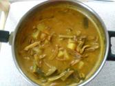 Dried Anchovy(fish)curry